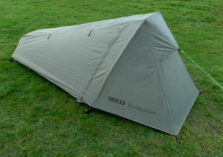Backpacker Tent in Drab Olive Colour